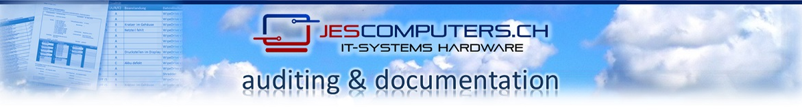 Jes Computers audits are detailed, clear and concise.
