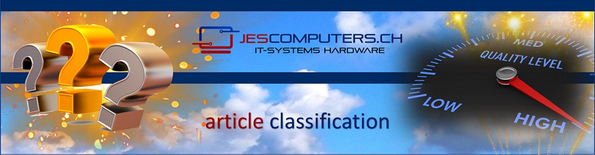 Jes Computers article classification in A-, B- and C-quality