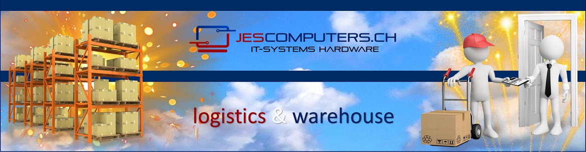 Jes Computers logistics and warehouse offers space for over 100 Euro pallets
