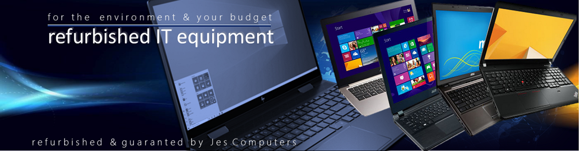 Jes Computers - the specialist for used laptops and PC's