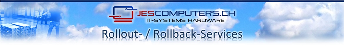 Thanks to the Jes Computers rollout / rollback services, your equipment is always at the right place at the right time.